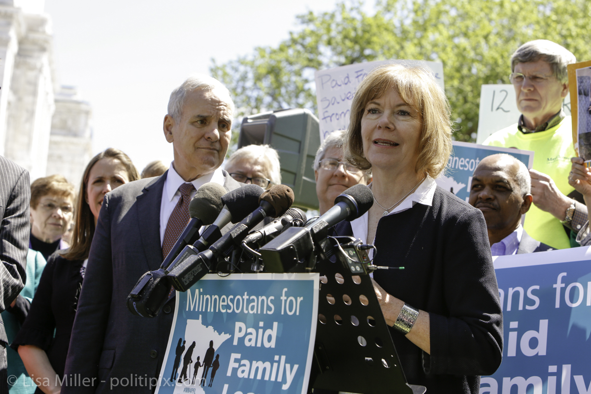 Minnesota for Paid Family Leave Rally 2016